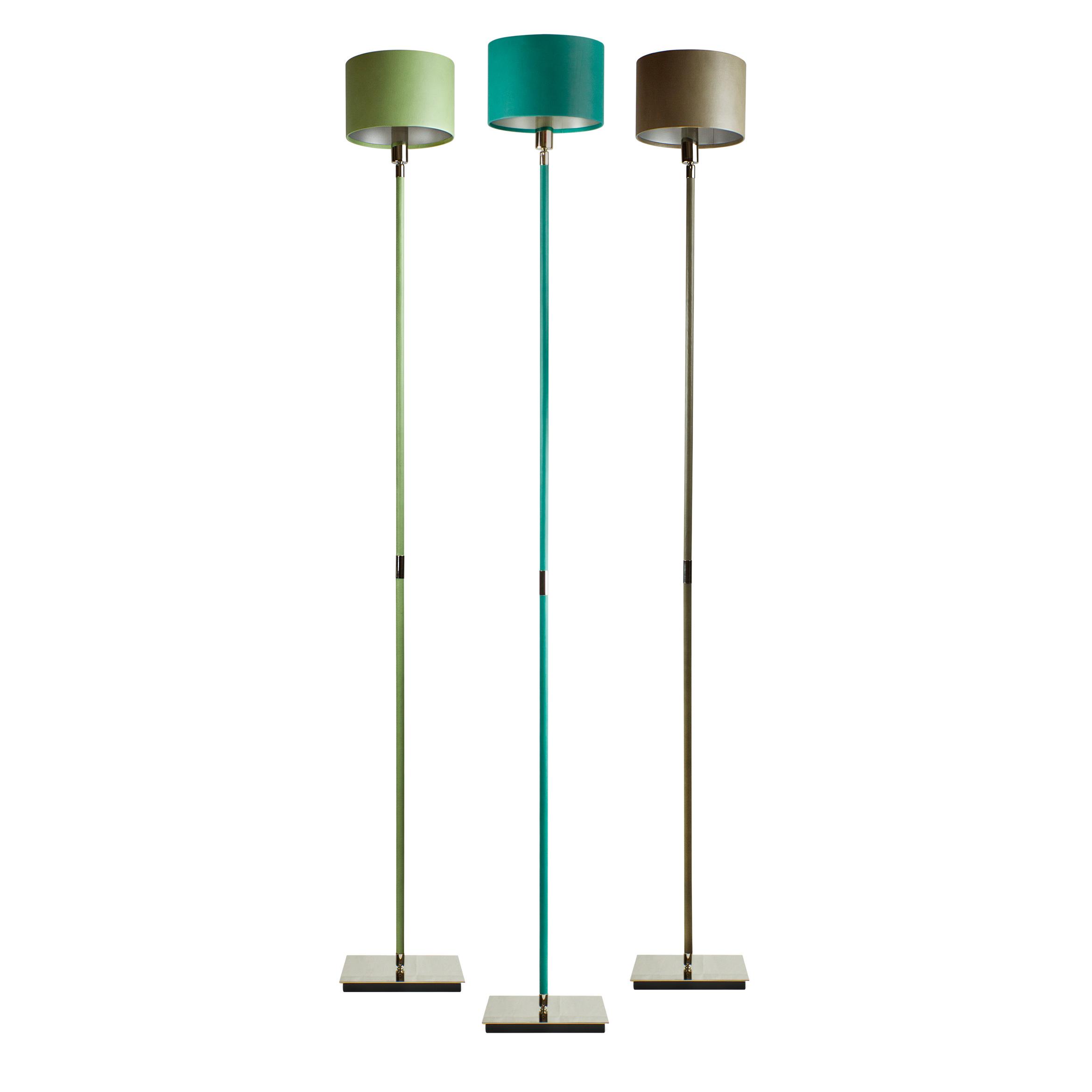 Linea claudio marco villaverde london linea metal leather floor lamp square aloadofball Image collections