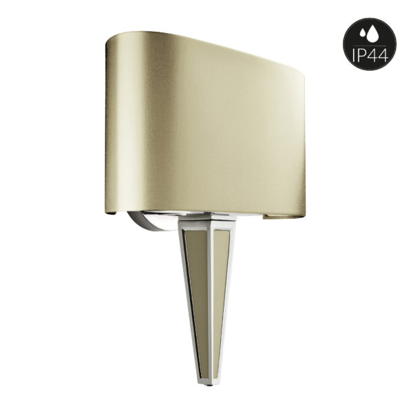 IP44 wall lights square_Piramide